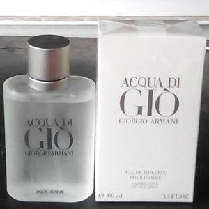 Brand New Acqua Di Gio 3.4oz Never Opened